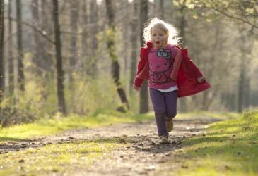 Kind in Maldegemveld - Ludo Goossens