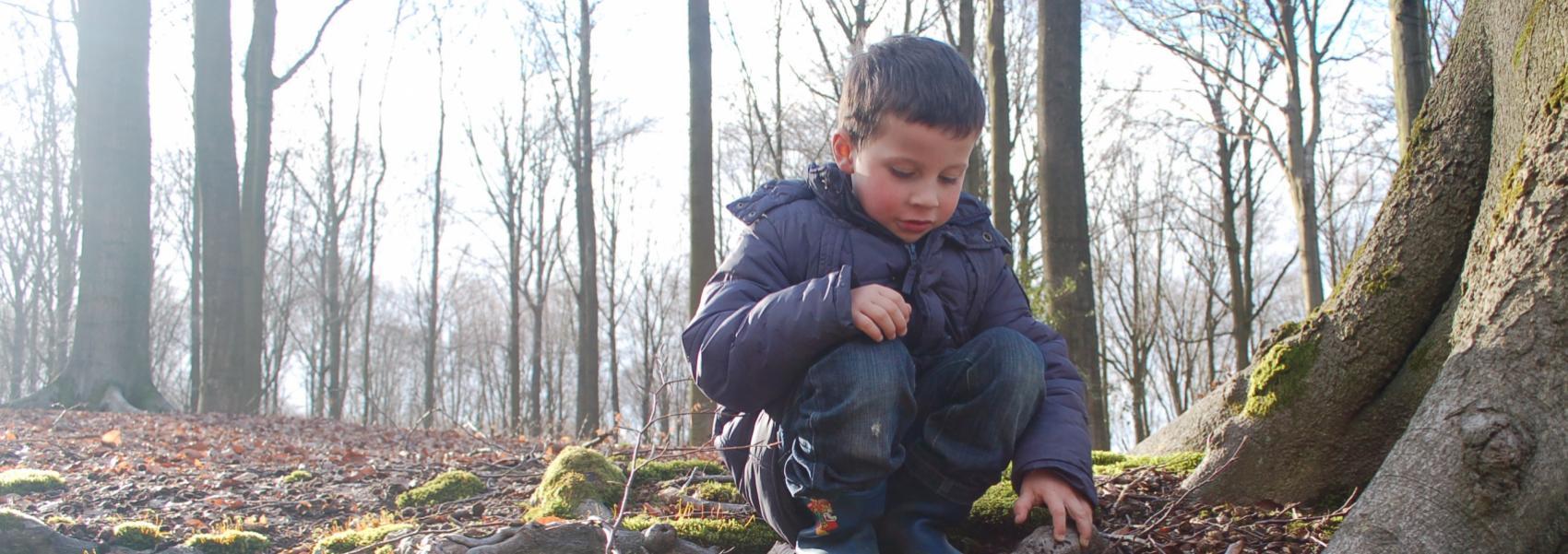 Kind in Brakelbos