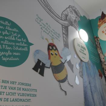 Tentoonstelling in Den Toren in Klein Schietveld, Brasschaat